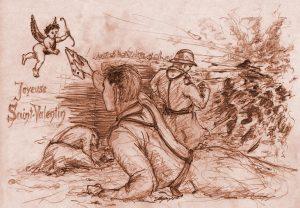 Segaux-Illustration Saint Valentin Première Guerre mondiale