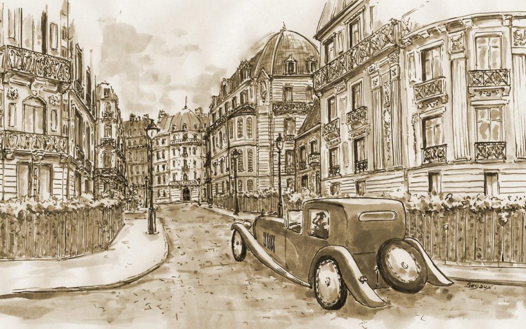 Paris, rue Rembrandt