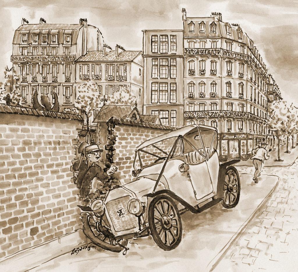 Angle E Richard-Froidevaux-Montparnasse