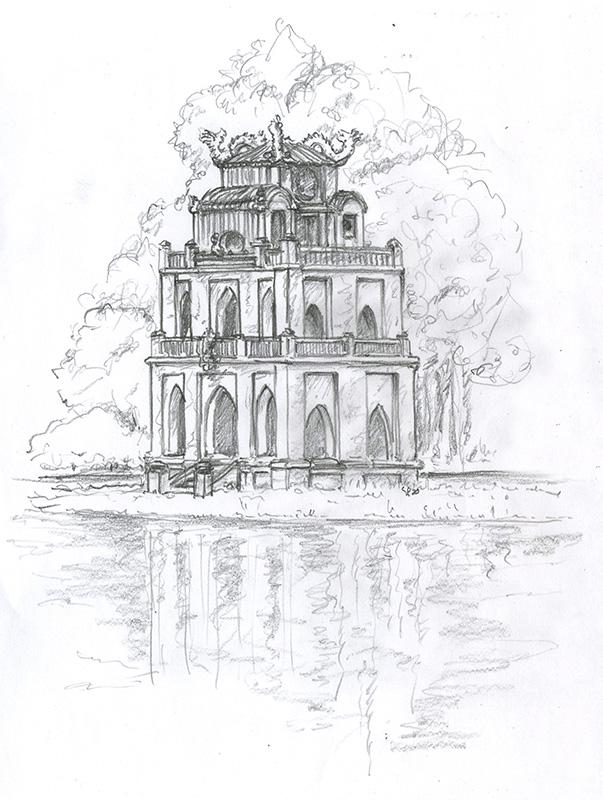 Tour de Tortue-Hanoï Vietnam