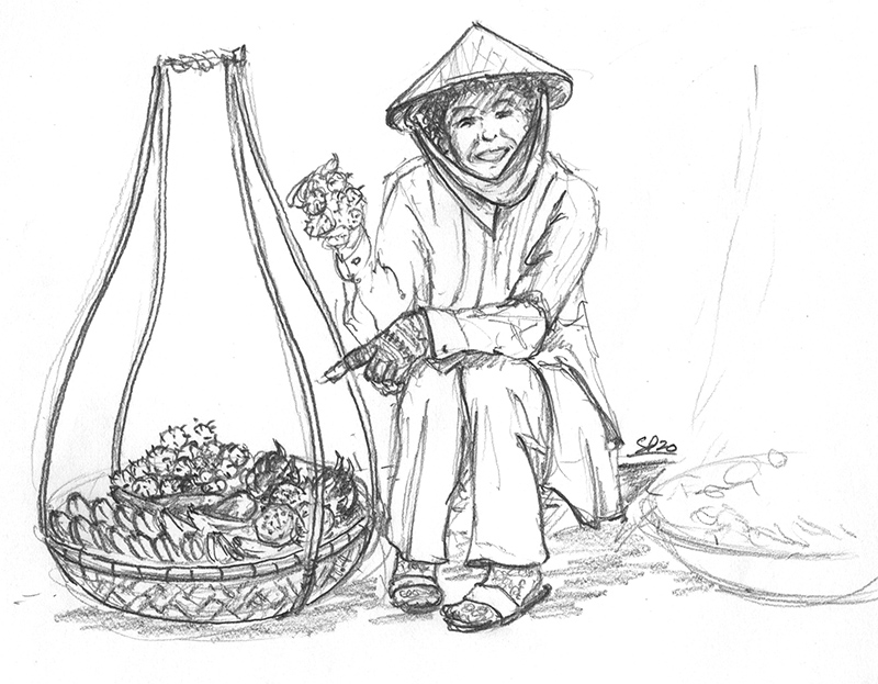 Vendeuse Vietnam
