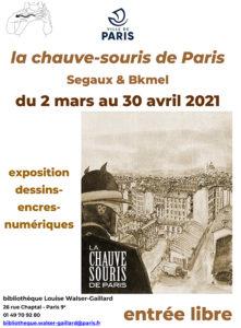 La Chauve-souris de Paris à la bibliothèque Louise Walser Gaillard